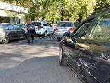 Ауди и Фолксваген катастрофираха до Зеленчуковия пазар в Хасково