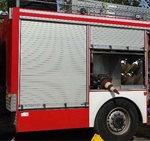 Горяха запалени отпадъци на улица в Крумовград, пожарът е потушен