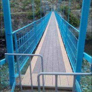 Дискусионно! Да се забрани ли минаването по въжения мост в Кърджали с велосипеди и мотоциклети?