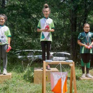 """Куп медали и отборно трето място за """"Компас"""" от състезания край Старозагорските бани"""