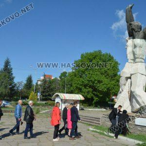 Отбелязаха Деня на победата и Деня на Европа в Хасково