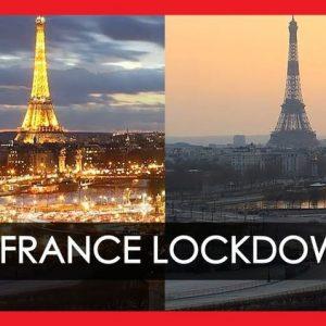 Париж преди и след коронавируса с дрон (видео)