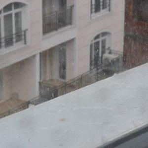 Пороен дъжд, градушка и гръмотевична буря над Кърджали