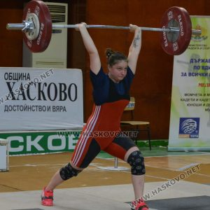 Хасковлийки шампионки на Държавното по вдигане на тежести
