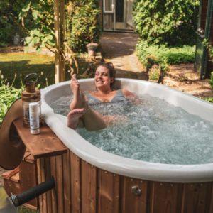 Горещата вана - почти като тренировките